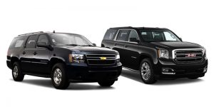 black SUV vehicles