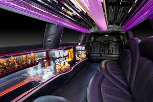 MKT Limo White Interior