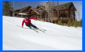 downhill skier, Windham, NY Long Island Car Service