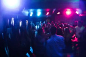 dancing in a night club hire New york limousine service
