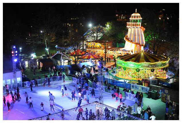 Winter Wonderland Kensico Plaza, New York City Limousine Service