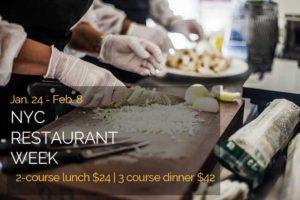 chefs in restaurant kitchen, NYC restaurant week, New York car service